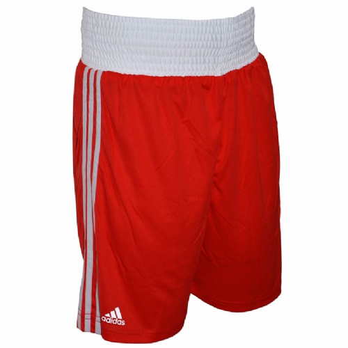 Adidas Base Punch Boxing Shorts - Red